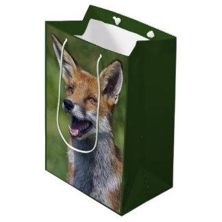 Smiling Fox Gift Bag