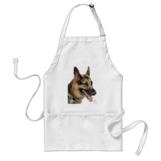 Smiling German Shepherd Standard Apron