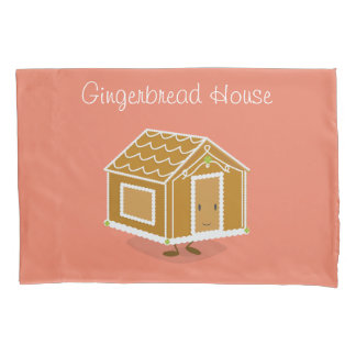Smiling Gingerbread House | Pilowcase Pillowcase