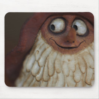 Smiling Gnome Mouse Pad