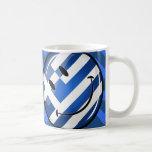 Smiling Greek Flag Basic White Mug