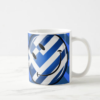 Smiling Greek Flag Coffee Mug