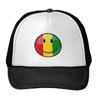 Smiling Guinea Flag Cap