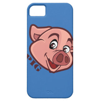 Smiling Happy Pig Face Case For The iPhone 5