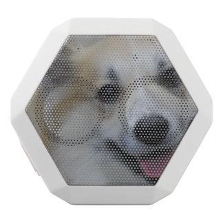 Smiling Icelandic Sheepdog White Boombot Rex Bluetooth Speaker