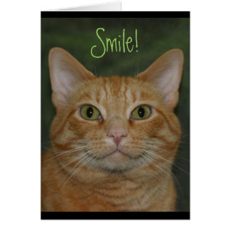Smiling Kitty Card