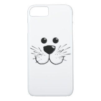 Smiling Kitty Cat Face iPhone 8/7 Case
