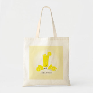Smiling Lemonade Glass | Basic Tote