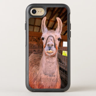 Smiling Llama iphone 7 otterbox case
