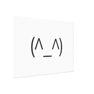 smiling man.ai gallery wrap canvas