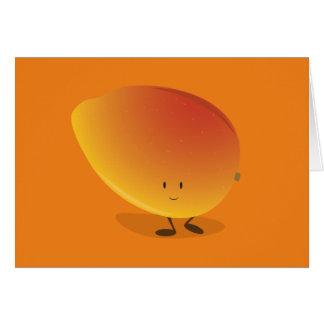 Smiling Mango Character Card