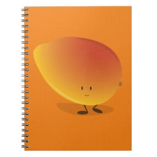 Smiling Mango Character Notebook
