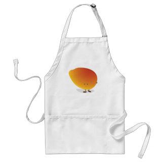 Smiling Mango Character Standard Apron