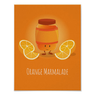 Smiling Marmalade Jam | Poster