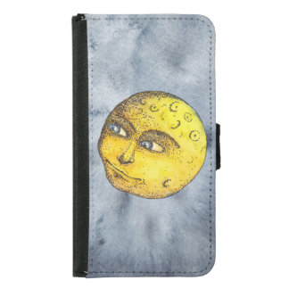 Smiling Moon on Indigo Case