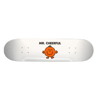 Smiling Mr. Cheerful 20.6 Cm Skateboard Deck