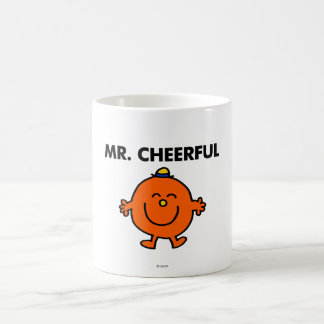 Smiling Mr. Cheerful Coffee Mug