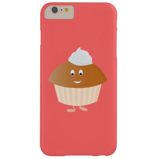 Smiling muffin character barely there iPhone 6 plus case