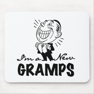 Smiling New Gramps T-shirts and Gifts Mousepad
