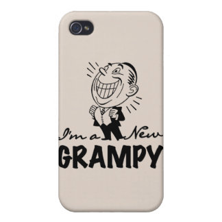Smiling New Grampy and Gifts Cover For iPhone 4