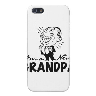 Smiling New Grandpa and Gifts Cases For iPhone 5