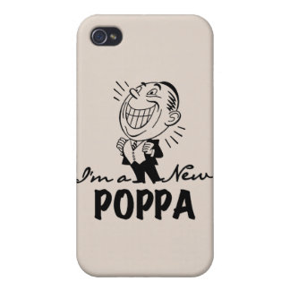 Smiling New Poppa and Gifts iPhone 4/4S Cases
