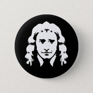 Smiling Newton 6 Cm Round Badge