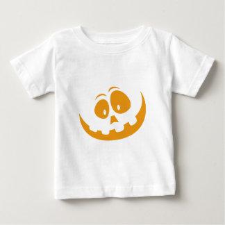 Smiling Orange Jack 'O Lantern Halloween Pumkin Baby T-Shirt