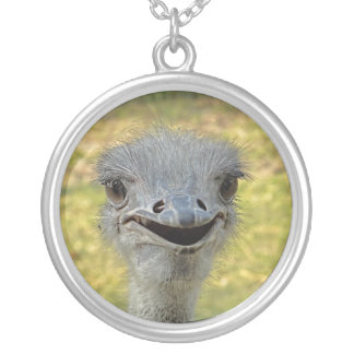 Smiling Ostrich Necklace