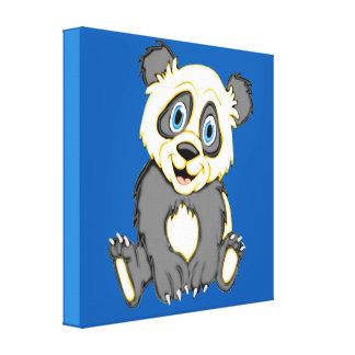 Smiling Panda 24 x 24 Canvas Prints
