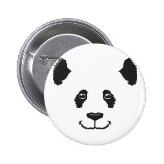 Smiling Panda 6 Cm Round Badge