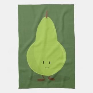 Smiling Pear Tea Towel
