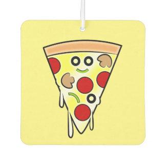Smiling Pizza Slice Car Air Freshener