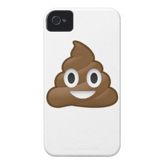 Smiling Poop Emoji iPhone 4 Case