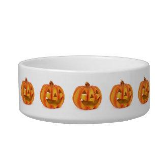 Smiling Pumpkin Jack O Lantern Halloween Bowl