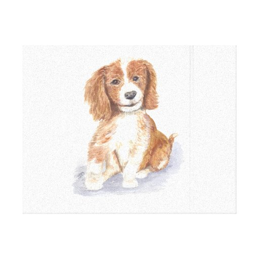 Smiling Puppy Canvas Prints