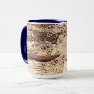 smiling rock. natural  collection. Greece Mug