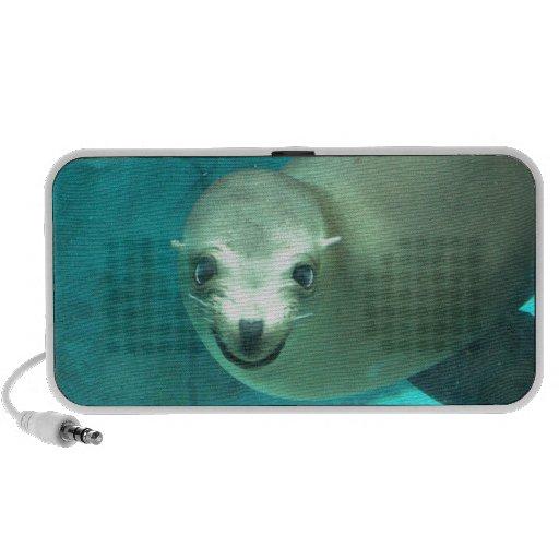Smiling Sea Lion - Saint Louis Zoo Mini Speaker