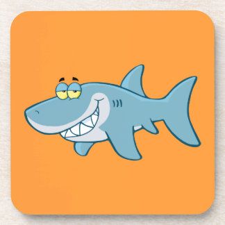 Smiling Shark Coasters
