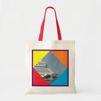 Smiling Ship Budget Tote Bag