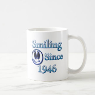 Smiling Since 1946 Coffee Mug