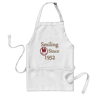 Smiling Since 1952 Standard Apron