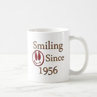 Smiling Since 1956 Basic White Mug
