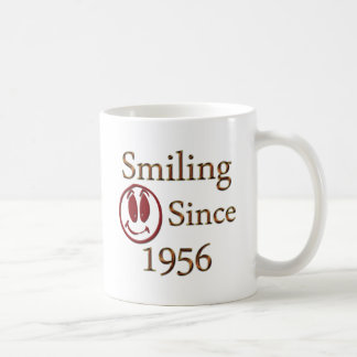 Smiling Since 1956 Coffee Mug