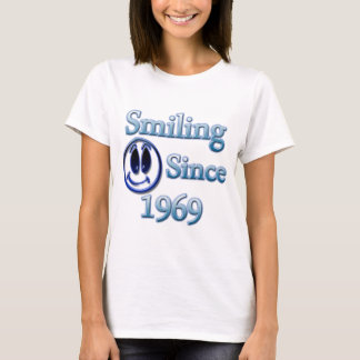 Smiling Since 1969 T-Shirt