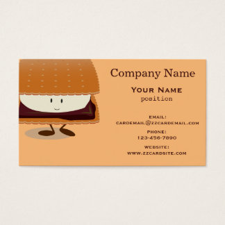 Smiling S'more Business Card