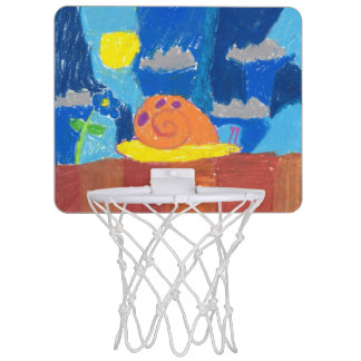 Smiling Snail Mini Basketball Hoop