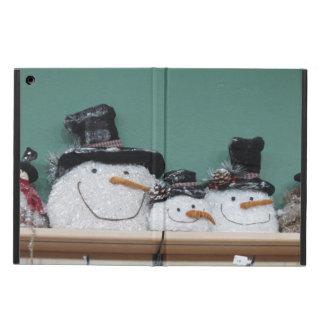 Smiling Snowmen iPad Air Cover