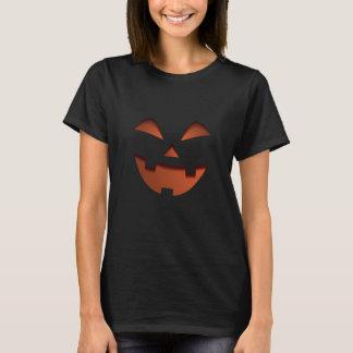 Smiling Spooky Halloween Pumpkin T-Shirt