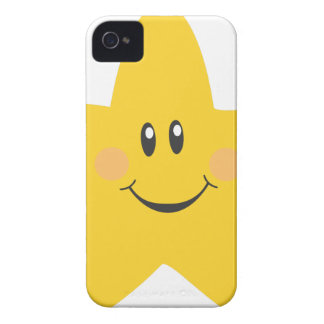 Smiling Star iPhone 4 Case-Mate Case